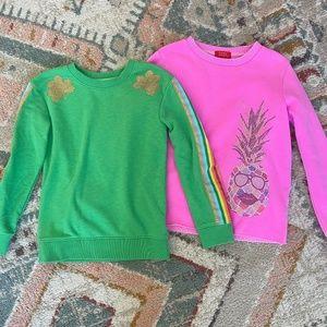 Girls Size 7/8 Sweater Bundle